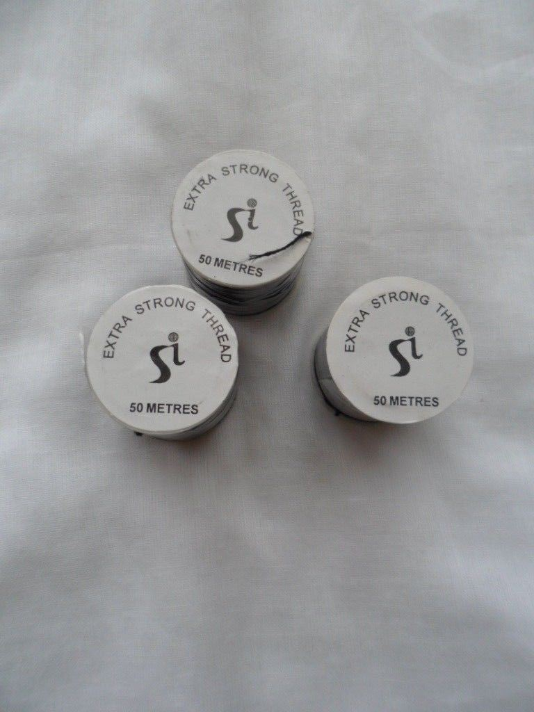 Si Extra Strong Sewing Thread 50M rolls Black
