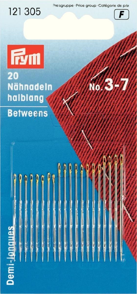 Sew and sew Long Darners pack of 6 needles Hand sewing needles Darning