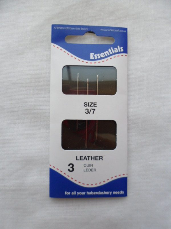 Hand sewing needles - Leather - Glovers 3/7 - 3 needles